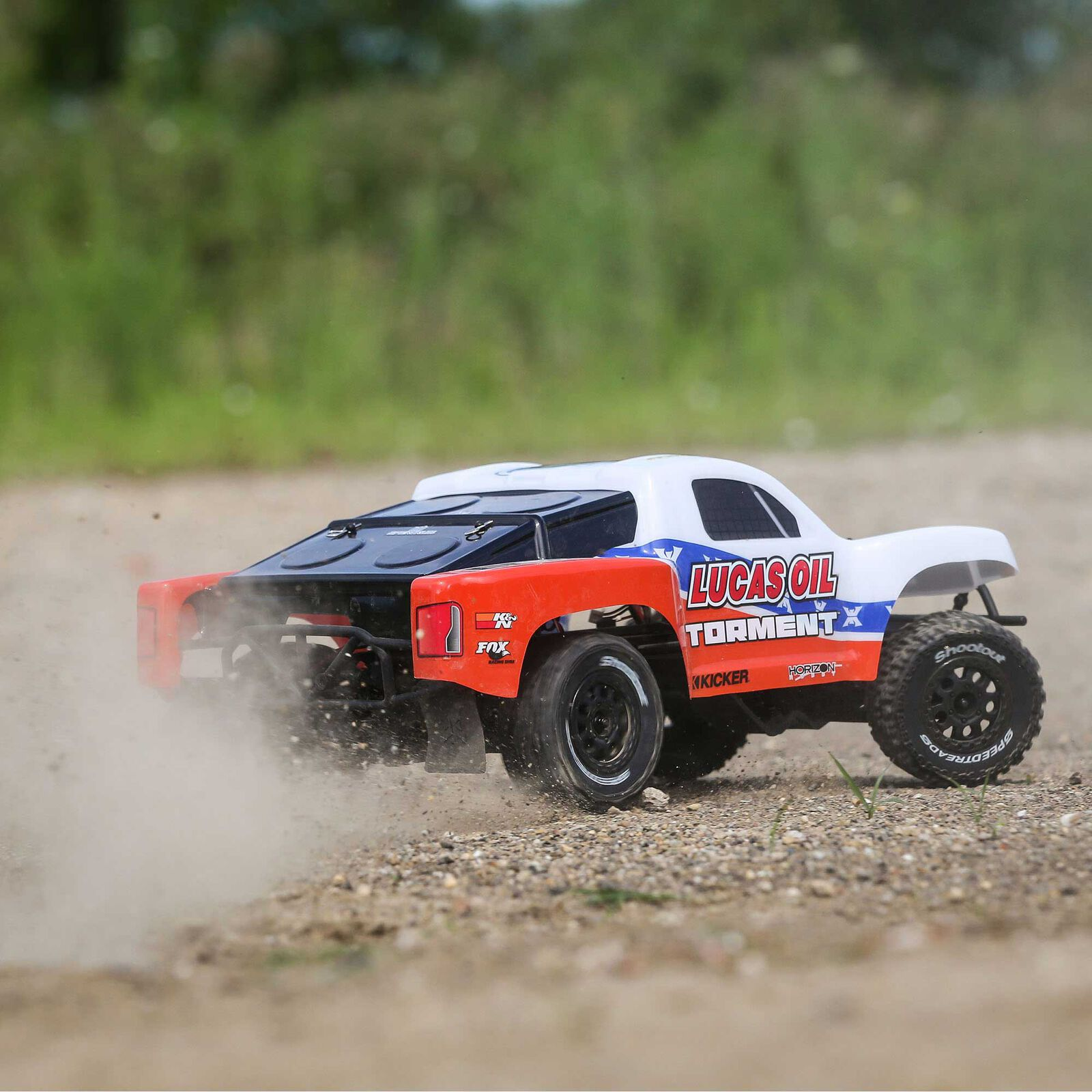1/10 Torment 2WD SCT Brushed RTR, Lucas Oil