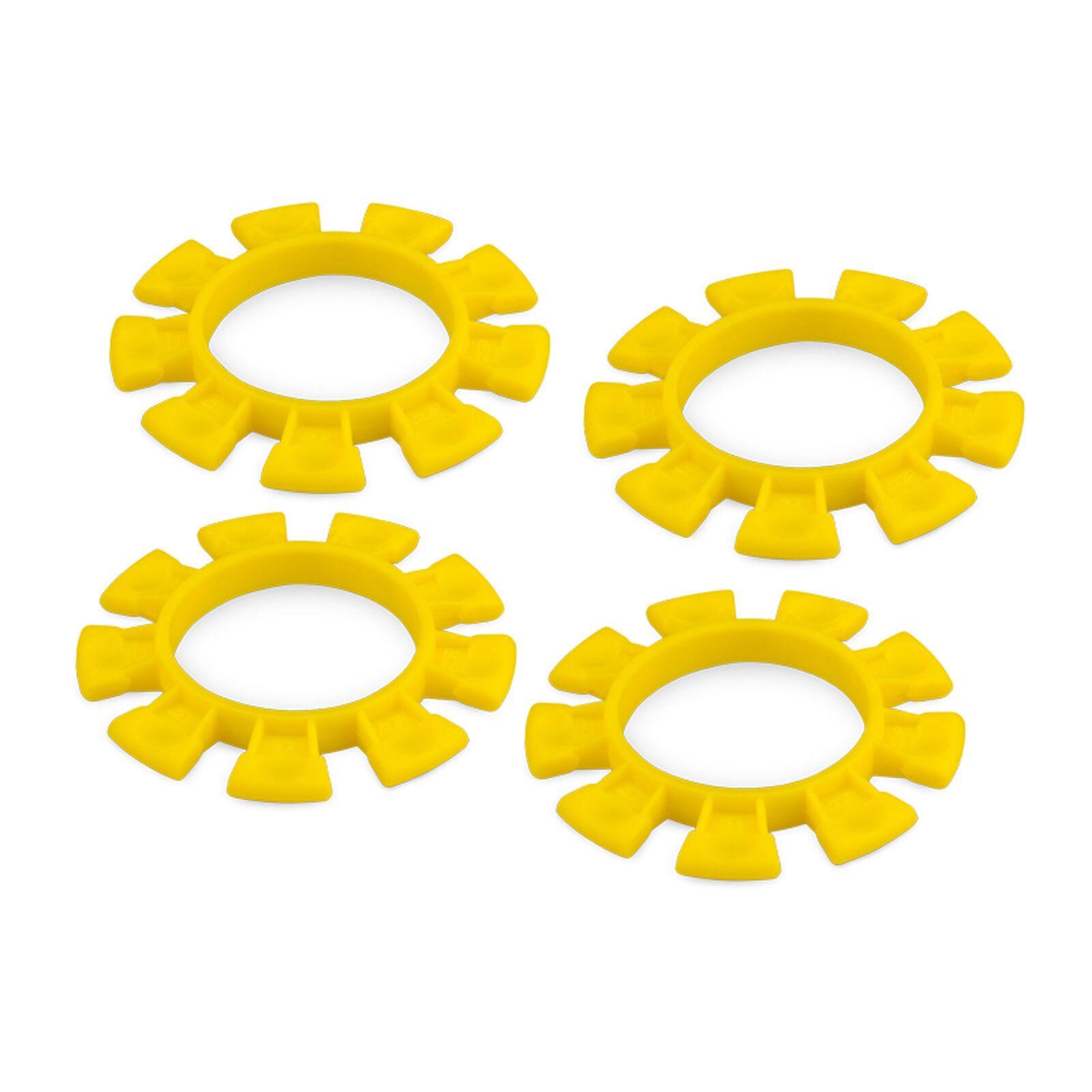 Dirt Bands Tire Gluing Rubber Bands Yellow (4)