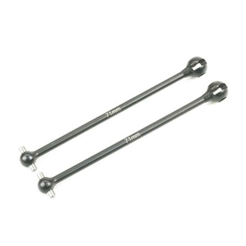 Driveshaft rear hardened steel (2pcs): EB410.2