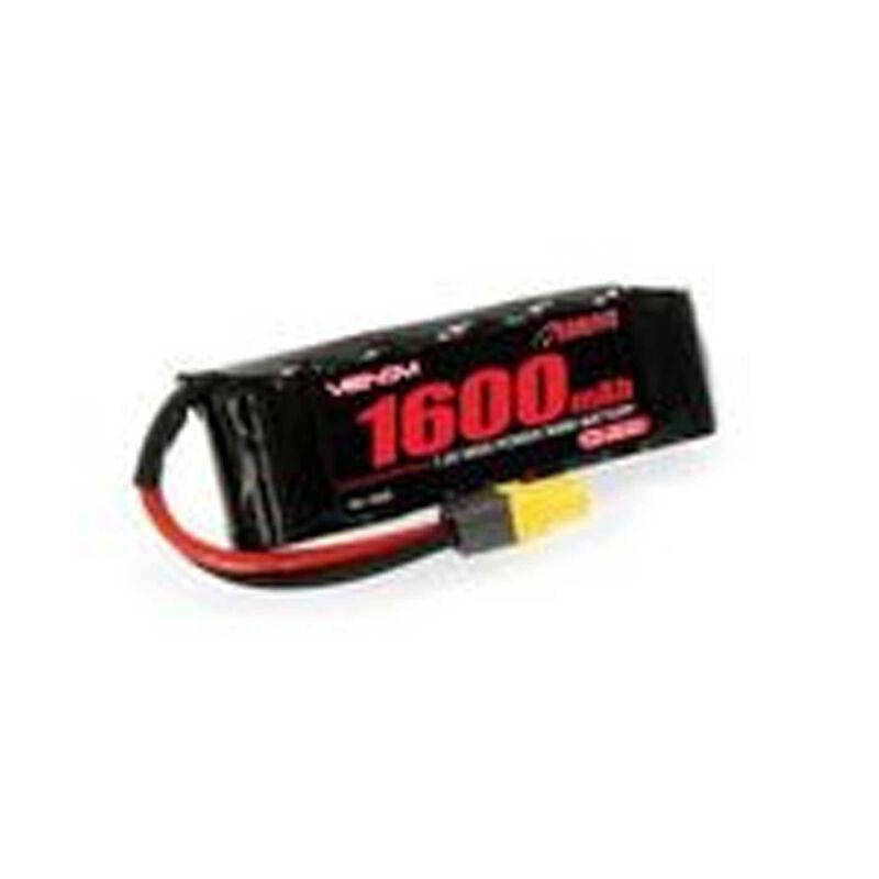 7.2V 1600mAh 6-Cell NiMH Battery: UNI 2.0 Plug