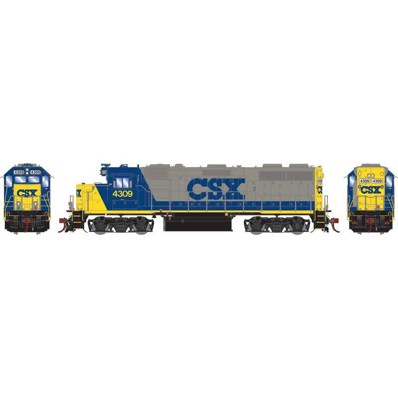 HO GP39-2 with DCC & Sound CSX #4309