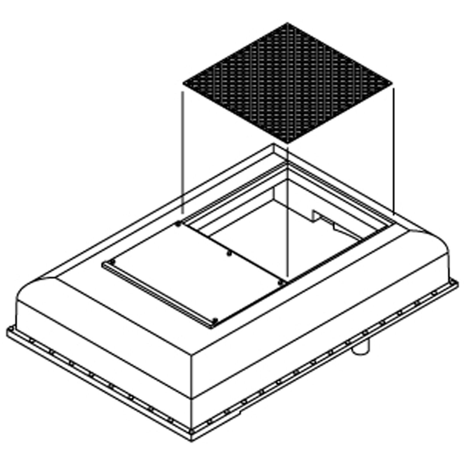 HO Winterization Hatch Set, GP-9/CPR (3)