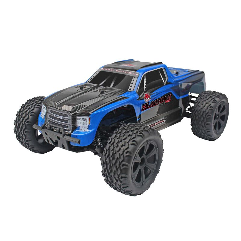 1/10 Blackout XTE Pro 4WD Monster Truck Brushless RTR, Blue