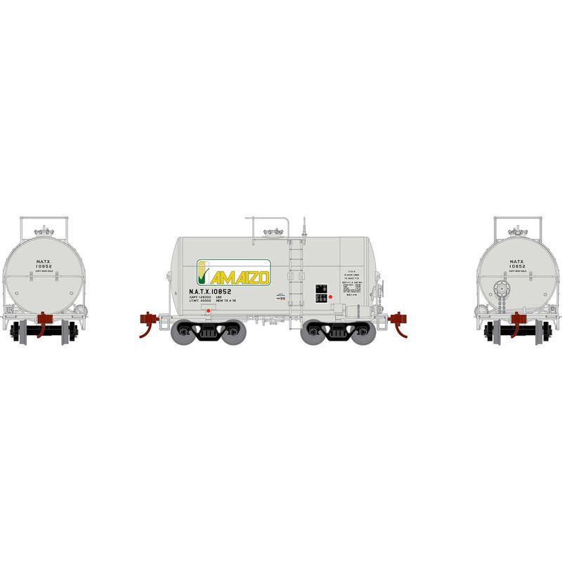 HO RTR 30' NACC 8 000-Gal Tank NATX Amazio #10852