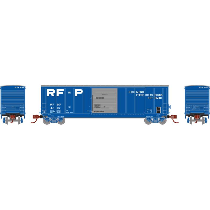 N 50' PS 5277 Single Door Box RF&P #4018