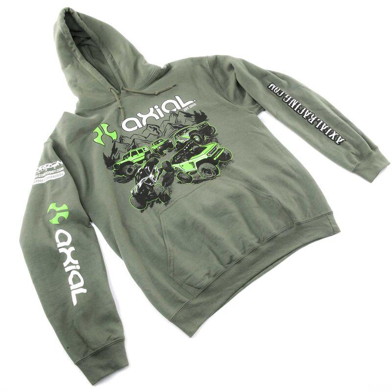 Green Hoodie, X-Large