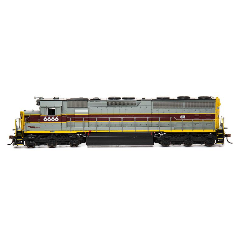 HO SD45-2 with DCC & Sound CR ex EL #6666