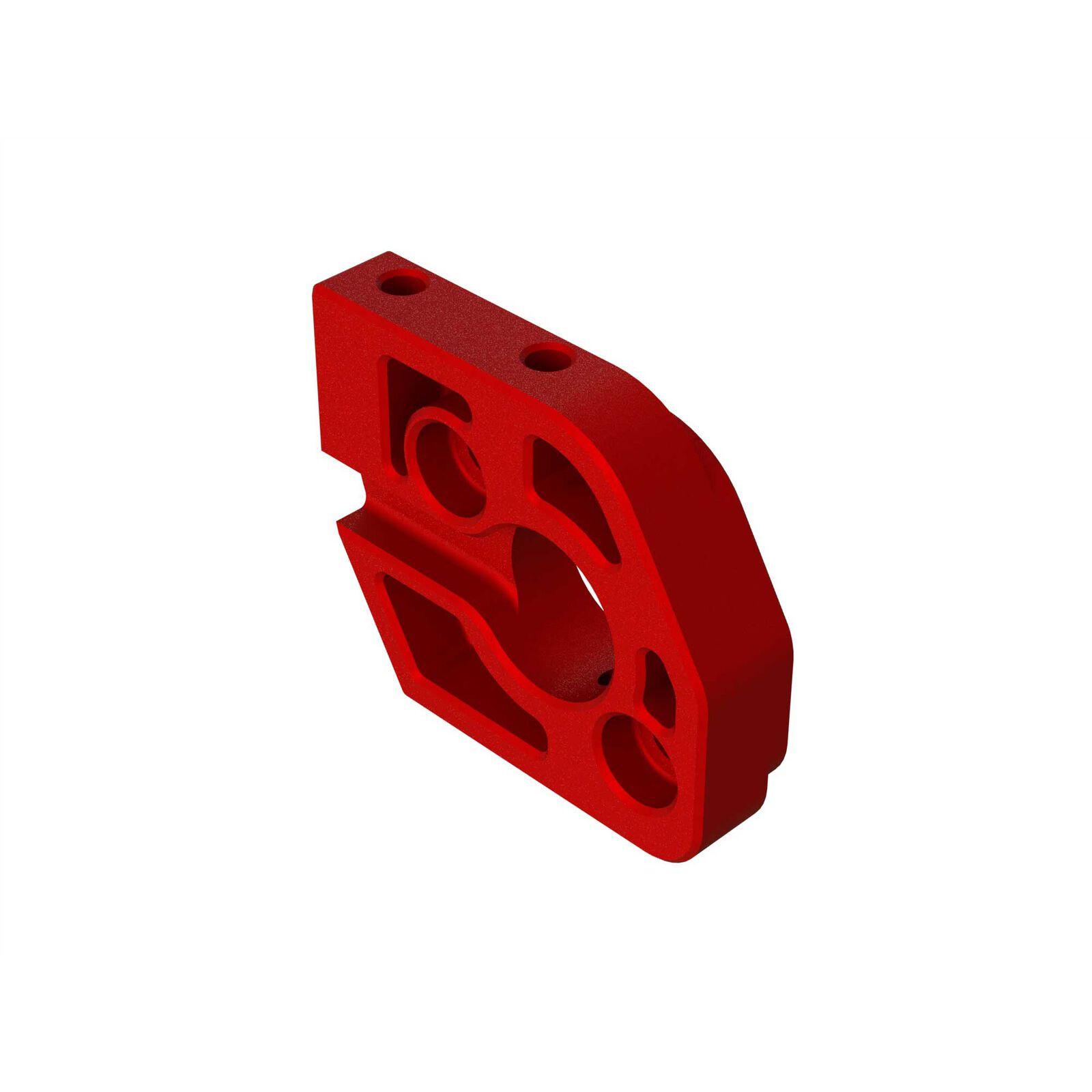 Aluminum Motor Plate, Red