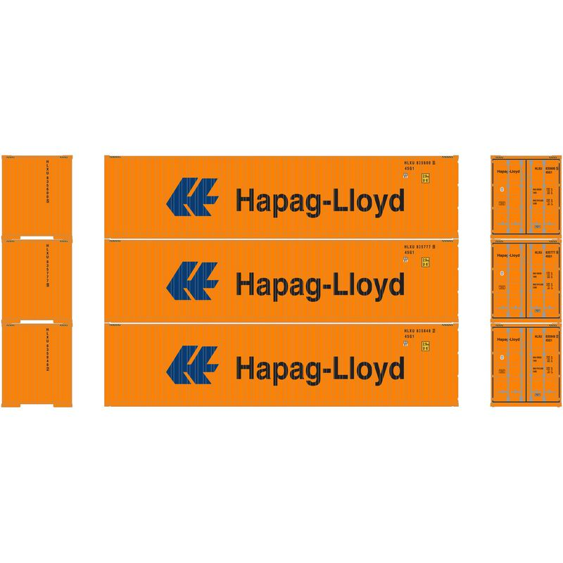 HO RTR 40' High-Cube Container Hapag-Lloyd (3)