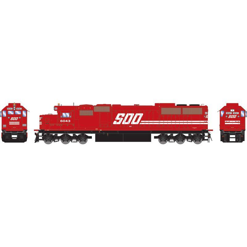 HO RTR SD60 SOO #6043