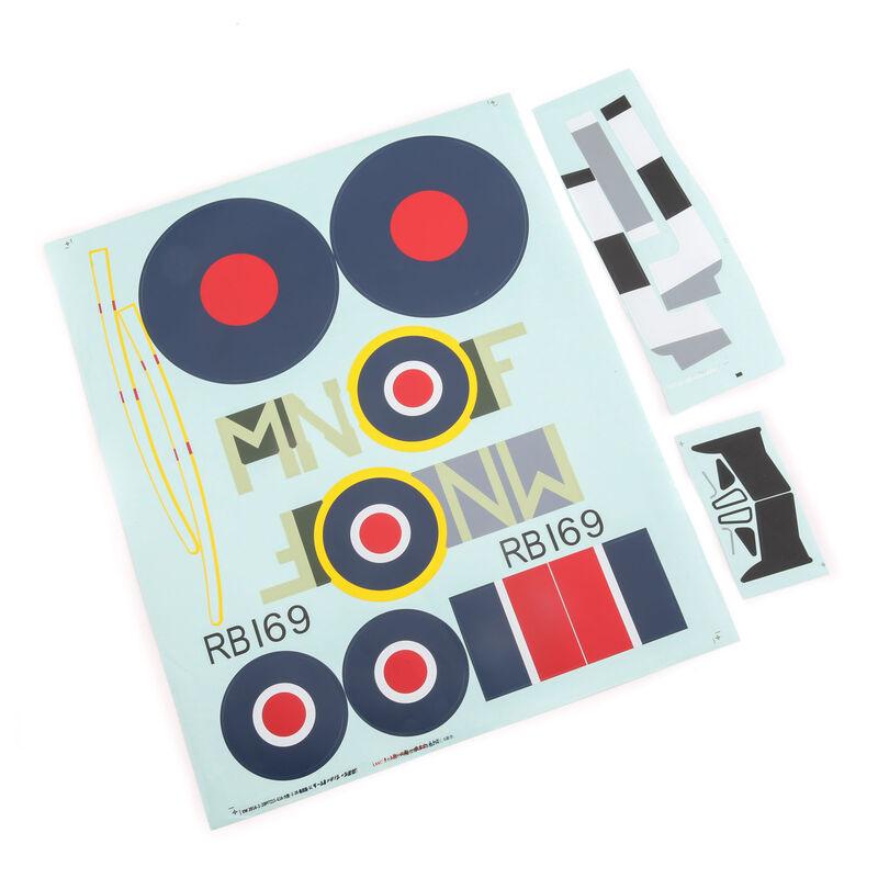 Decal Sheet: Spitfire Mk XIV 1.2m