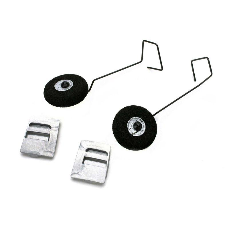 Main Landing Gear Set: Micro P-51