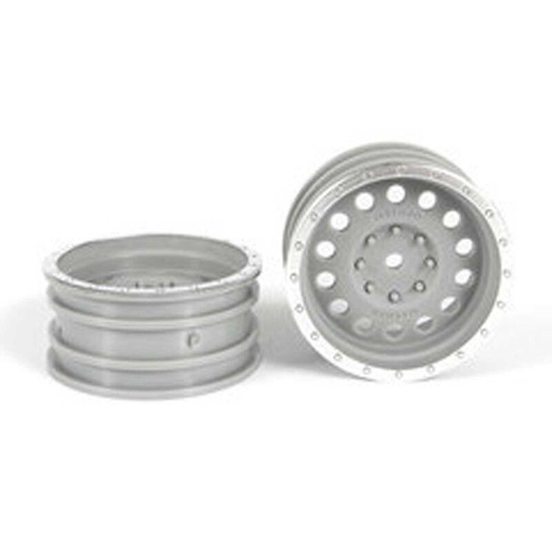 "1.9"" Method MR307 Hole Wheels Chromse, Magenta (2)"