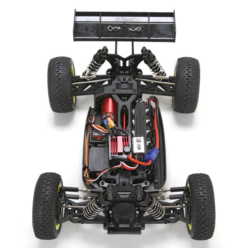 1/14 Mini 8IGHT 4WD Buggy Brushless RTR with AVC, Blue