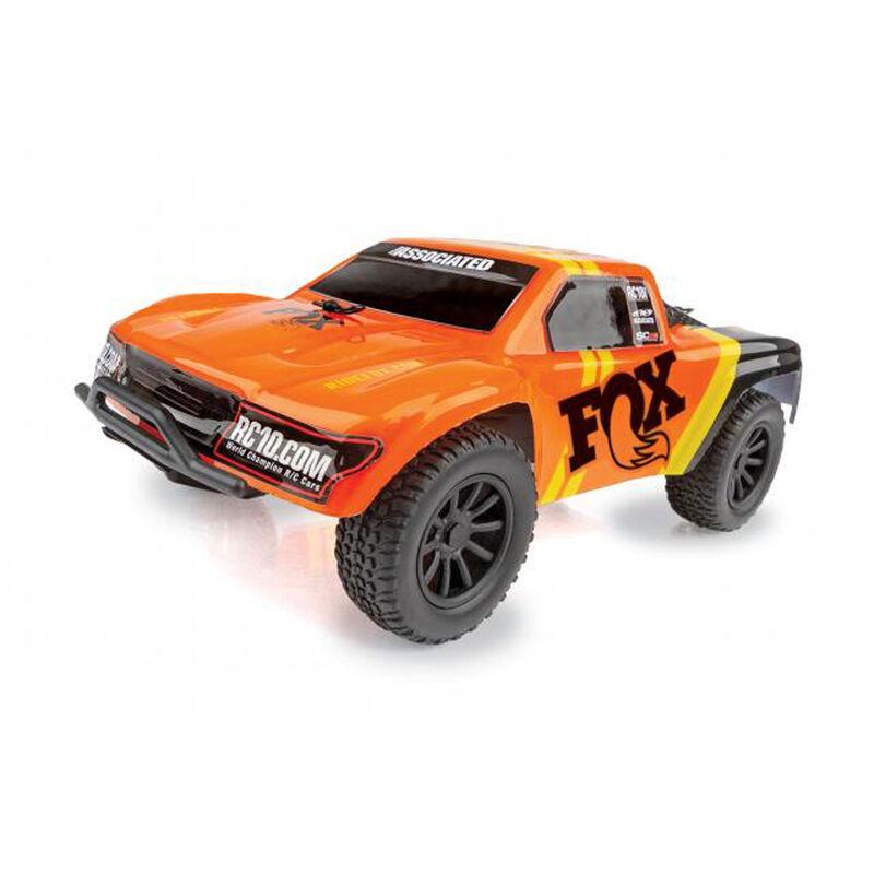 1/28 SC28 2WD SCT Brushed RTR, Fox Edition: Orange