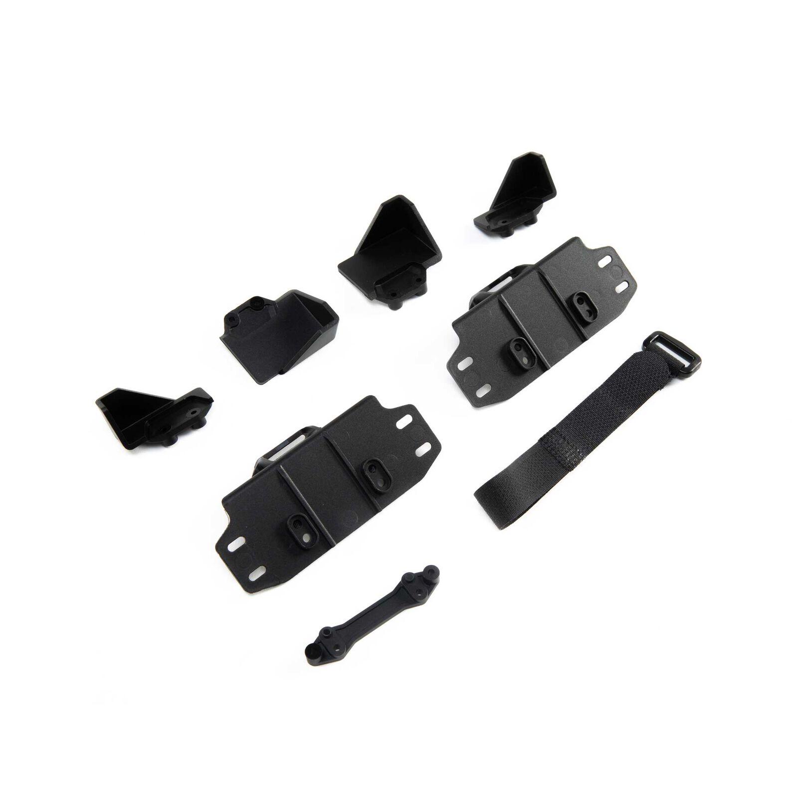 Battery Tray Sets & Strap: SCX10 III
