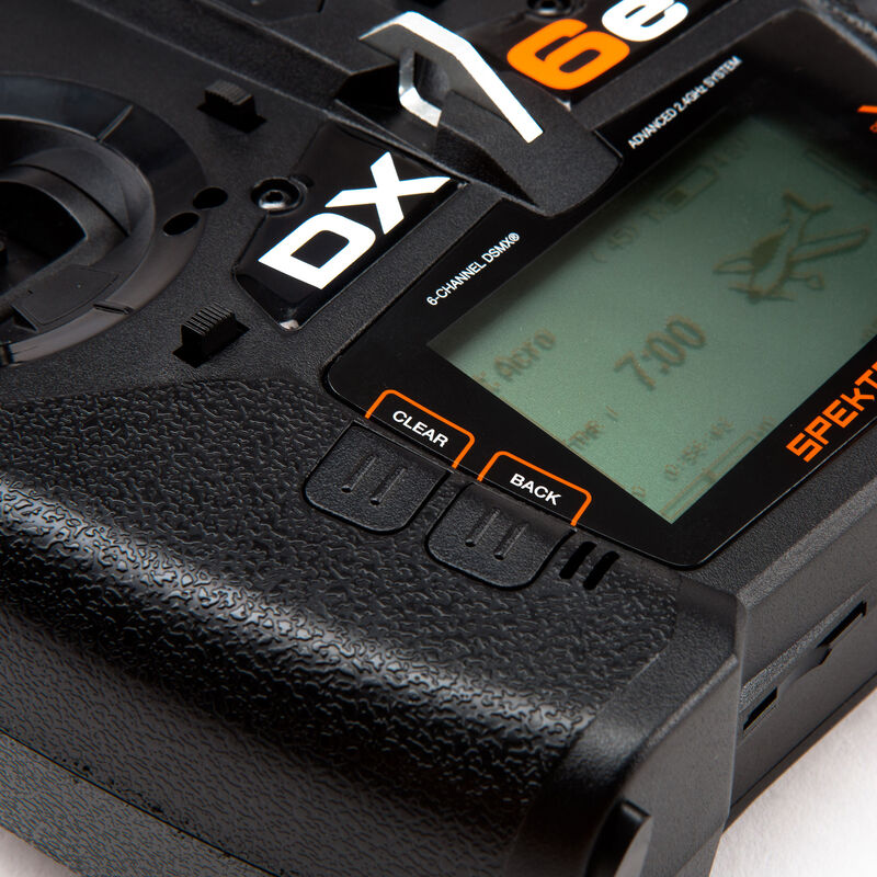 DX6e 6-Channel DSMX Transmitter with AR610