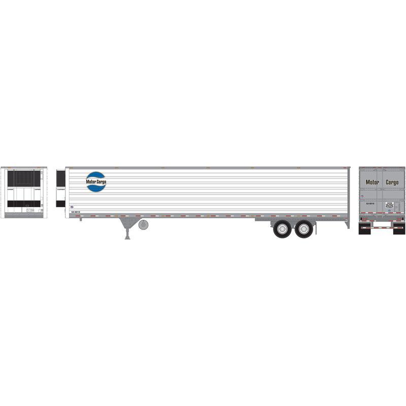 HO RTR 53' Reefer Trailer Motor Cargo #52-0008