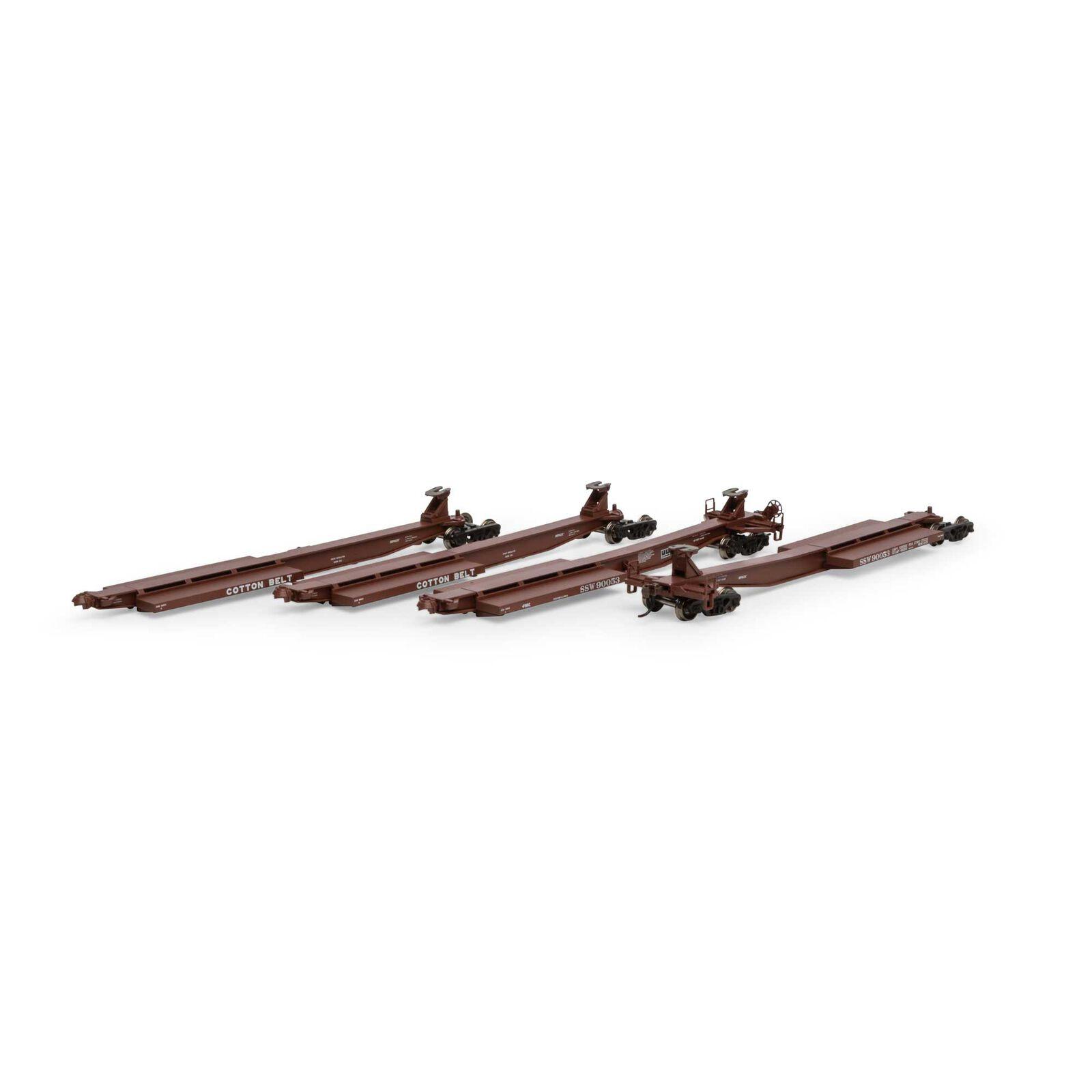 HO RTR 57' Trinity Spine Car, SSW #90053 (4)
