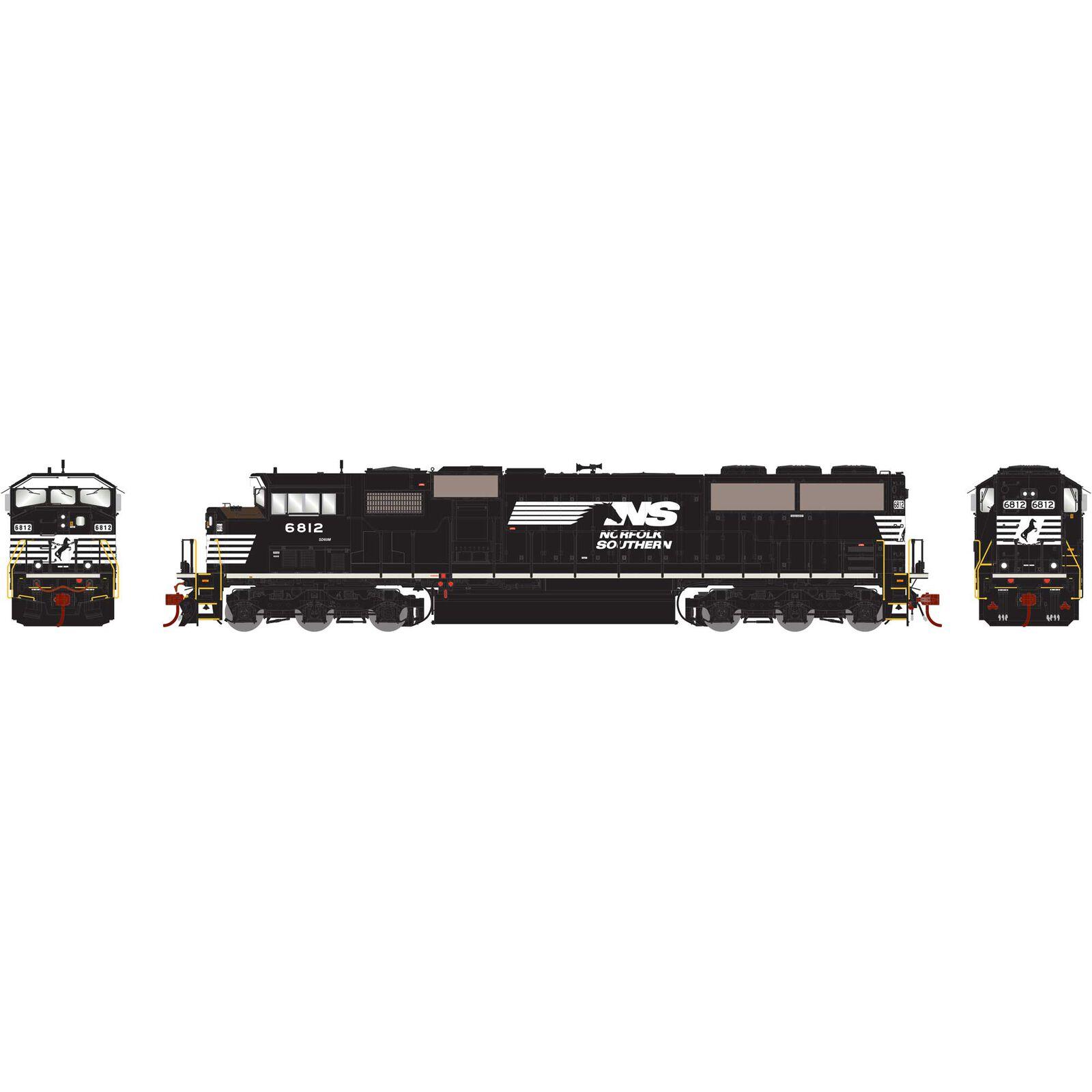 HO G2 SD60M Tri-Clops NS #6812