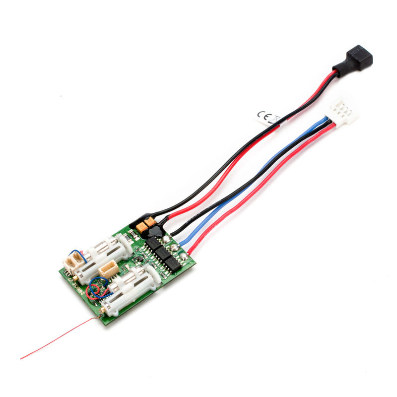 AR6410LBL DSMX 6-Ch Ultra Micro Receiver with Brushless ESC