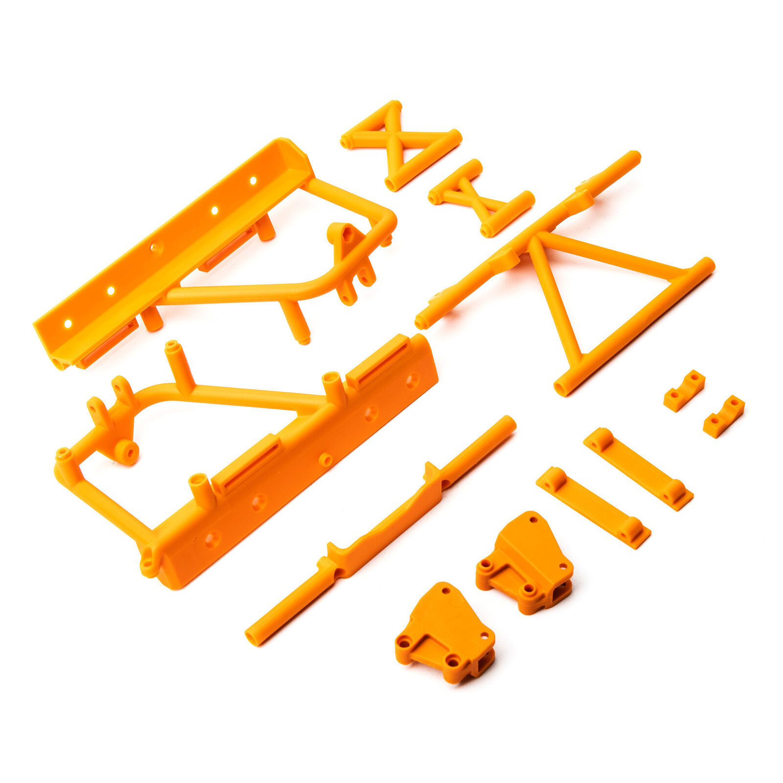 Cage Supports Battery Tray (Orange)  RBX10