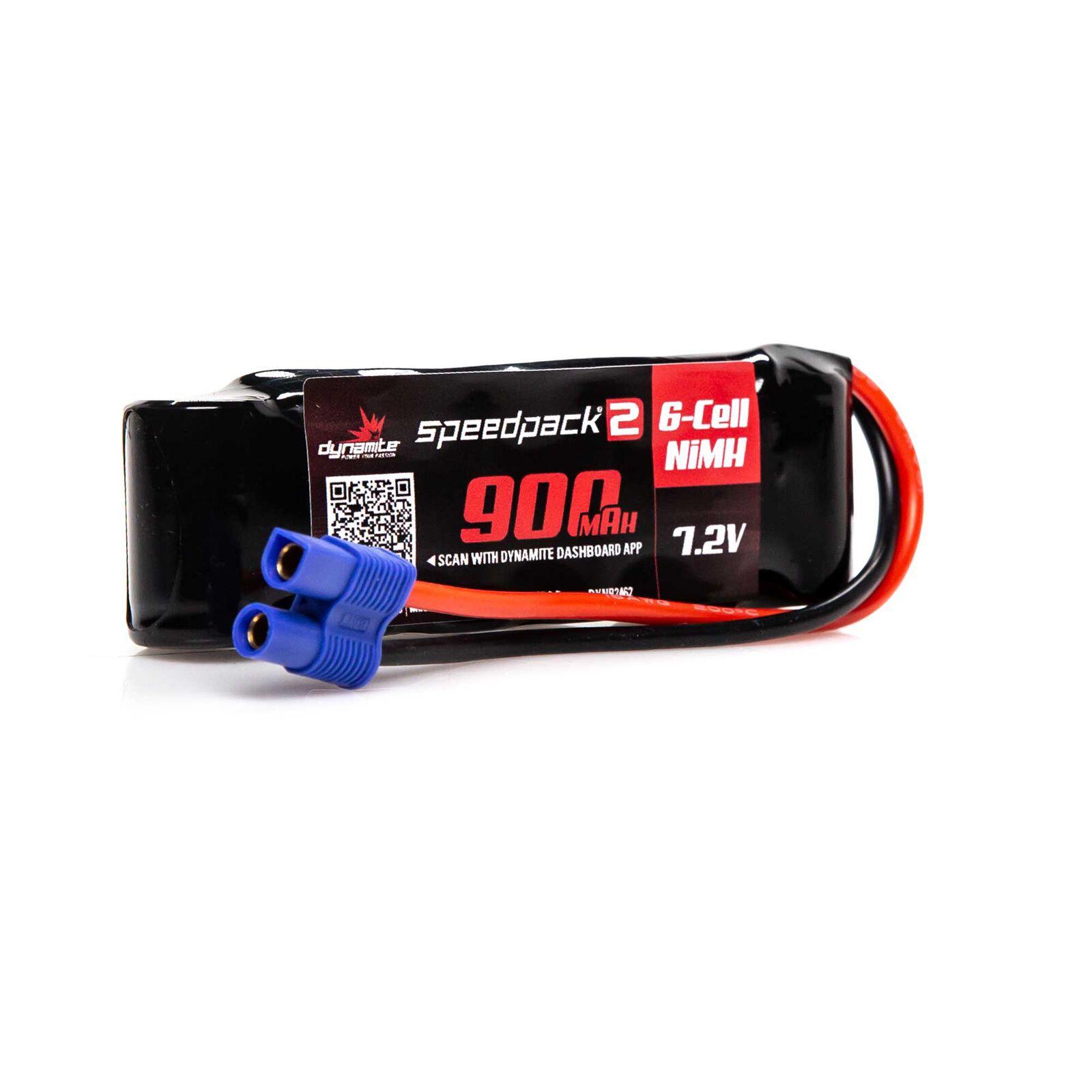 Speedpack2 7.2V 900mAh 6C NiMH, EC3