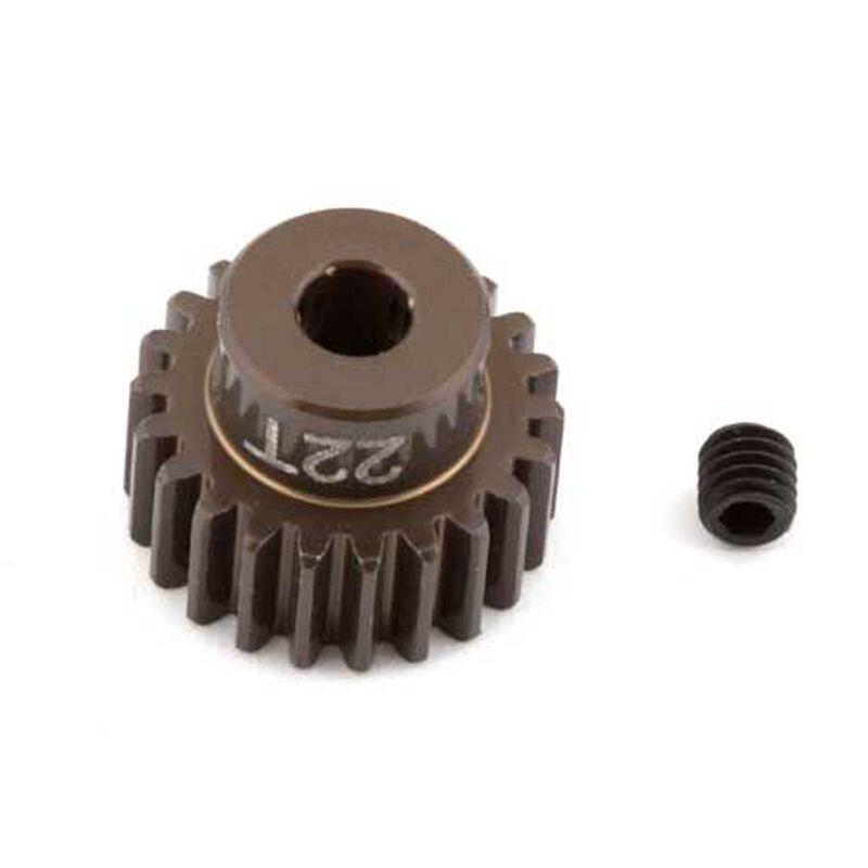 Factory Team Aluminum Pinion Gear, 22T, 48P, 1/8 shaft