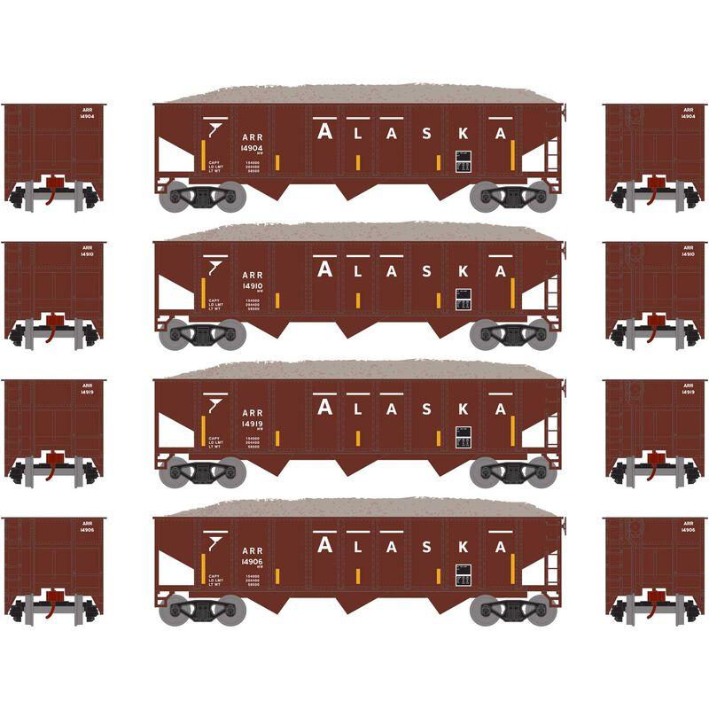 N 40' Outside Braced Hopper/Load, ARR (4) #1