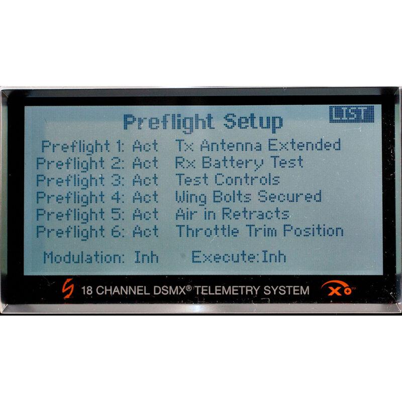 DX18 GEN 1 DSMX® Transmitter with AR9020 Receiver: Enhanced Software Edition