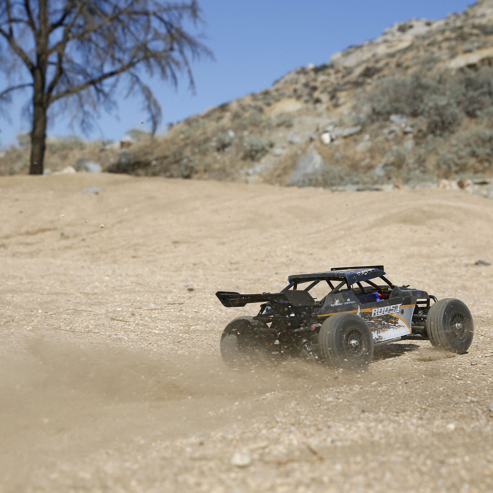 1/18 Roost 4WD Desert Buggy Brushed RTR, Black/Orange