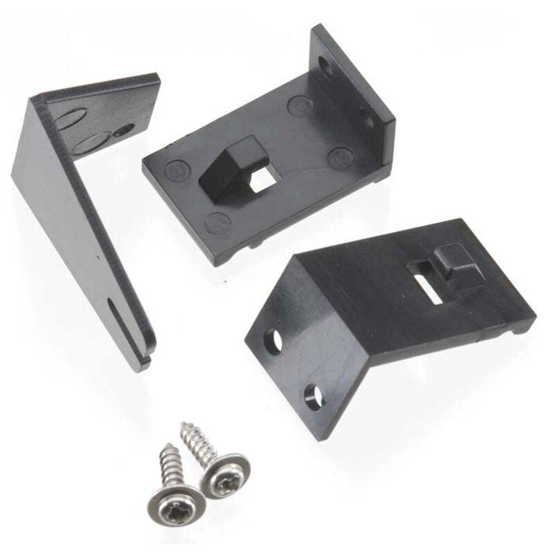Rudder Support Brackets with Splash Guard: GP-1, Mini Thunder