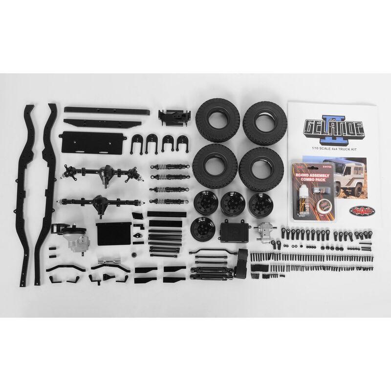 1/10 Gelande II 4WD Truck Chassis Kit