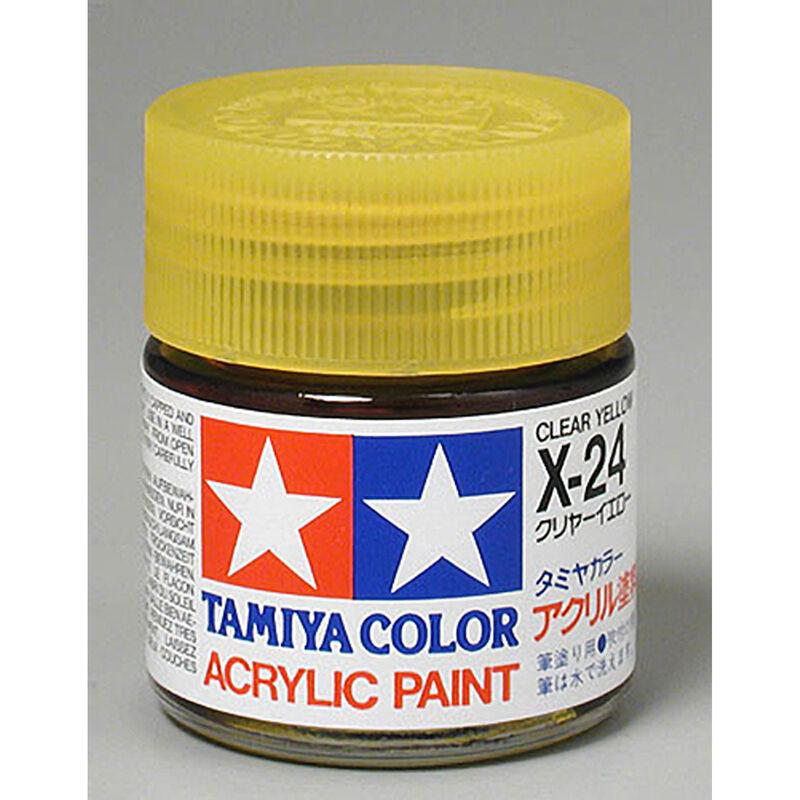 Acrylic X24 Gloss,Clear Yellow