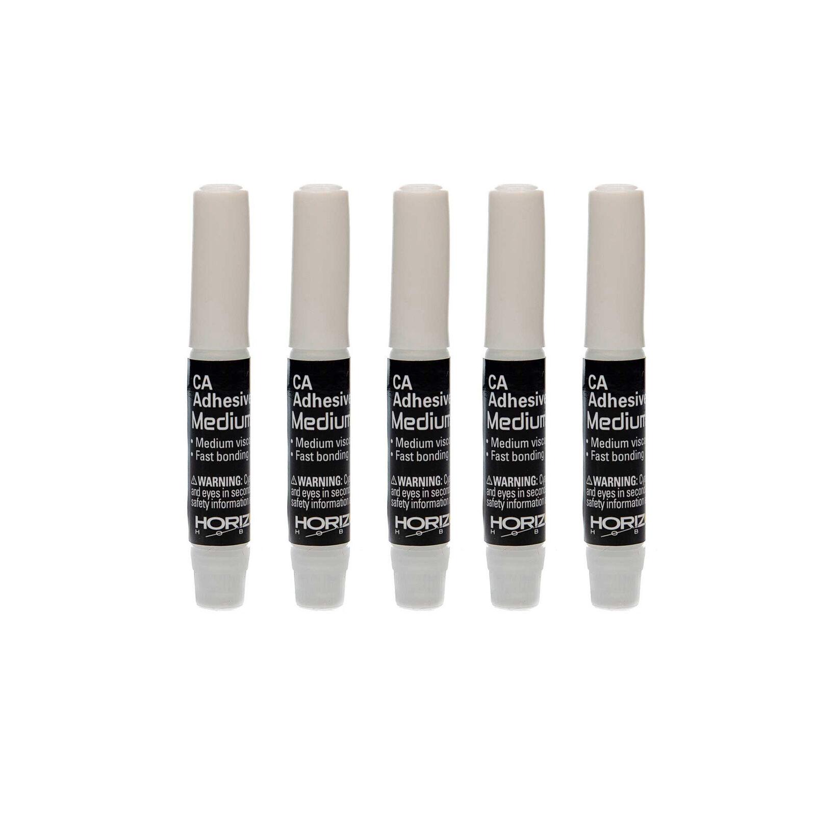Dynamite CA Glue Pipettes, Medium .07 oz (5)