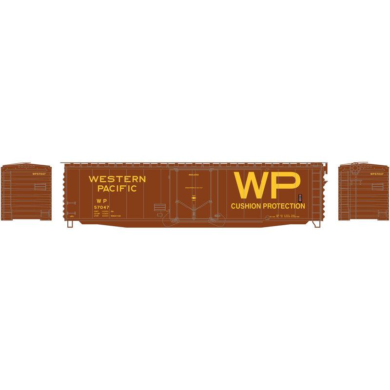 N 50' PS-1 Plug Door Smooth Side Box WP #57047