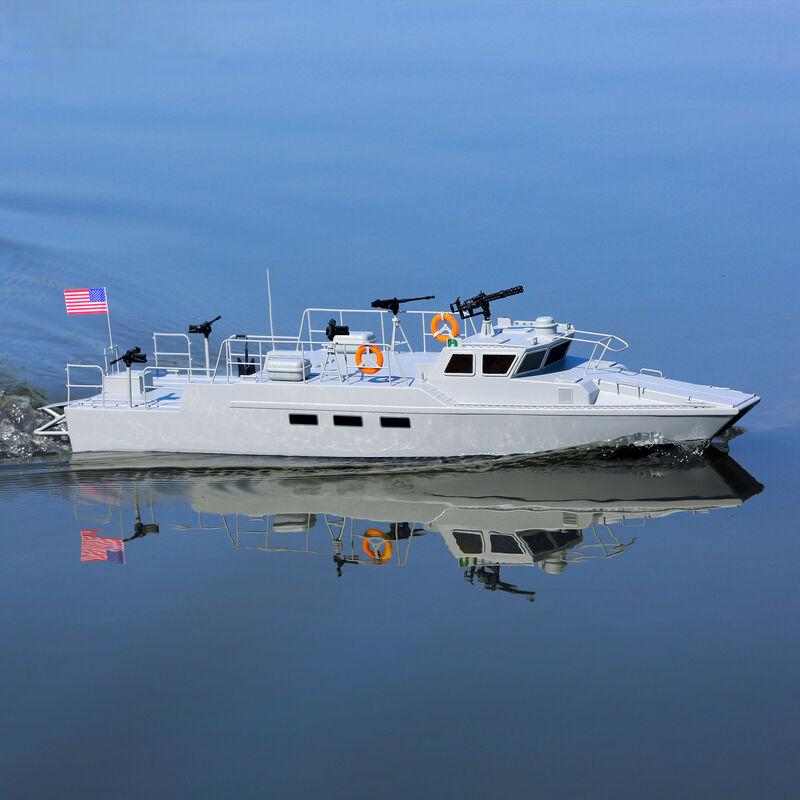 """Riverine Patrol Boat 22"""" Brushed RTR"""