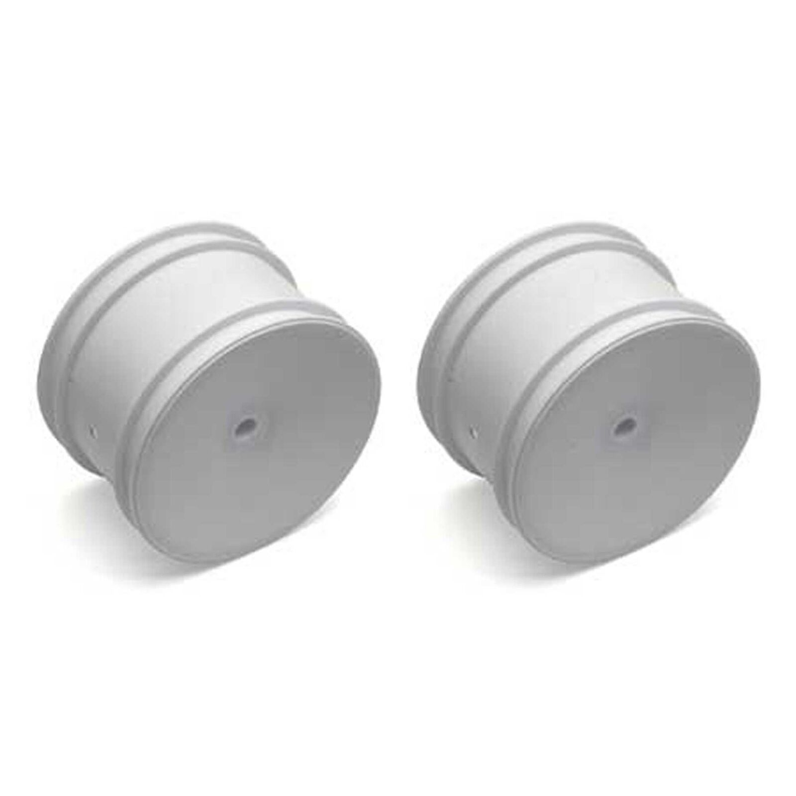 1/10 Rear 12mm Hex Wheels, White (2): Buggy