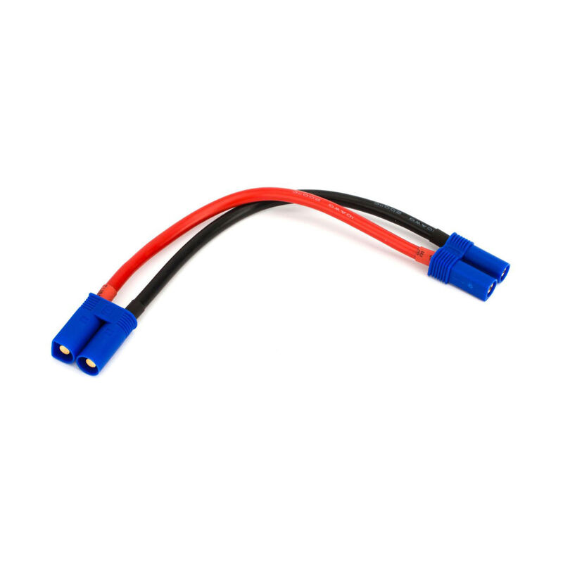 """Extension Lead: EC5 with 6"""" Wire, 10 AWG"""