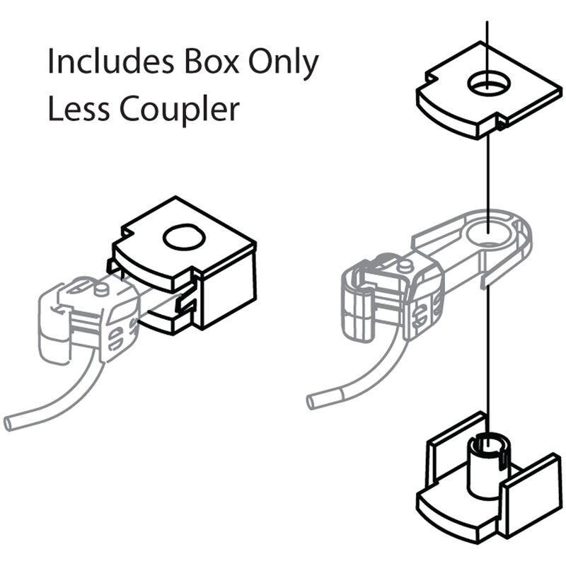 N F/FP45 COUPLER BOX & COVER