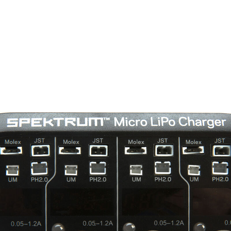 S44 Micro 4-port AC/DC 1S LiPo Smart Charger