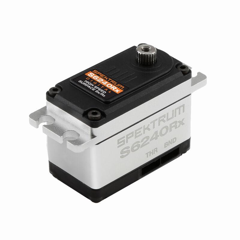 S6240RX Standard Digital High Speed Metal Gear Servo with DSMR Receiver