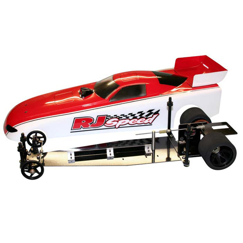 """1/10 Electric Funny Car 2WD Dragster Kit, 13"""""""