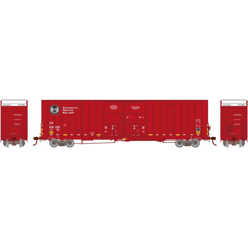 HO RTR 60' Gunderson Box CPR #218253
