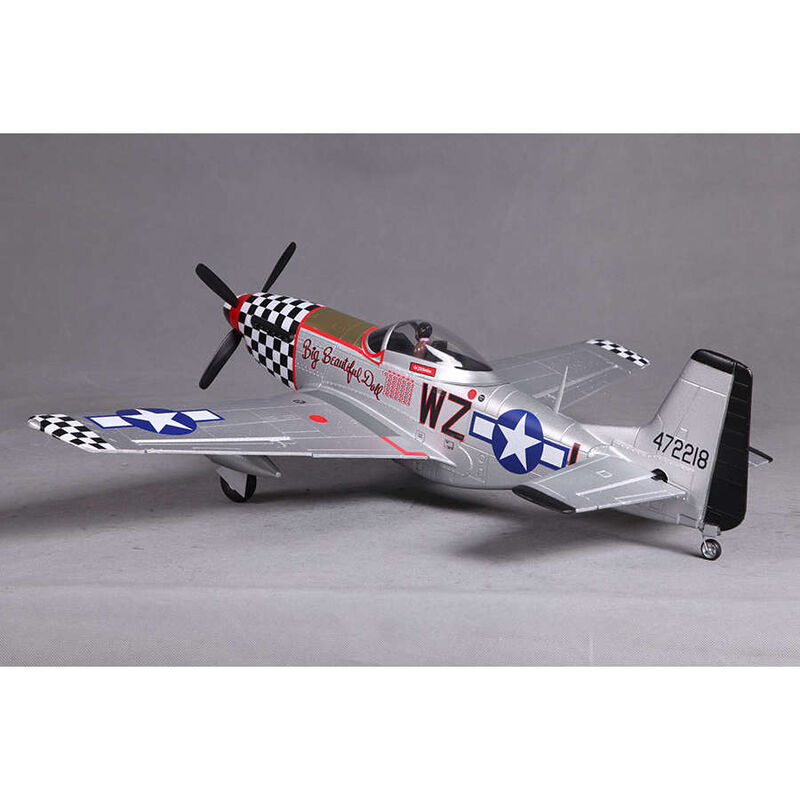 P-51D V2 Big Beautiful Doll PNP, 800mm