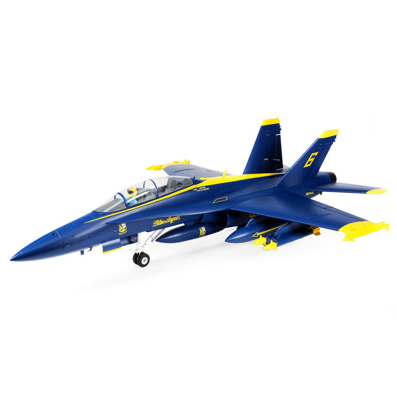 F-18 Blue Angels 80mm EDF BNF Basic, 980mm