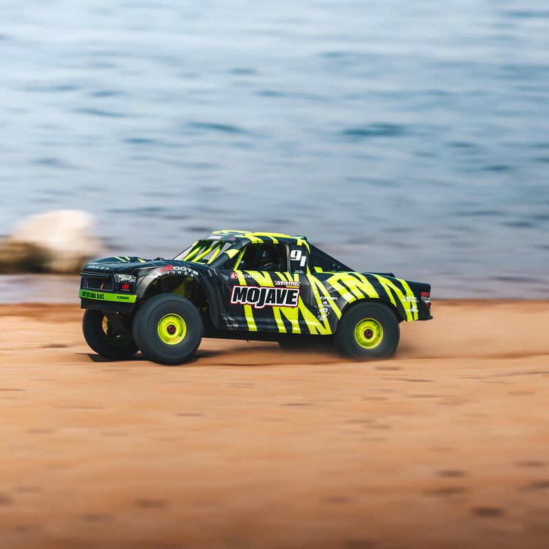 1/7 MOJAVE 6S V2 4WD BLX Desert Truck with Spektrum Firma RTR, Green/Black