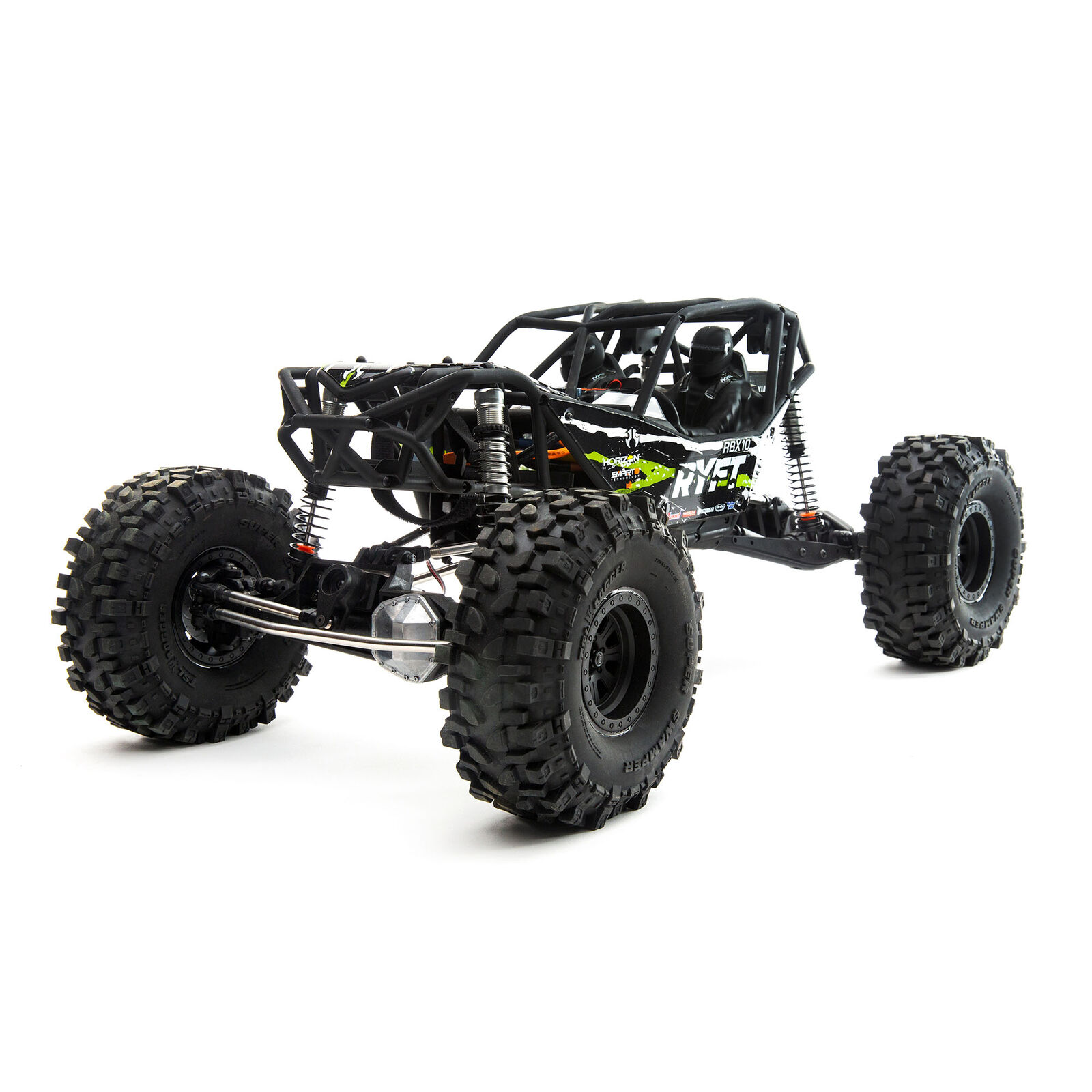 1/10 RBX10 Ryft 4WD Brushless Rock Bouncer RTR, Black
