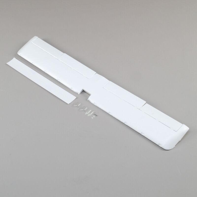 Wing with Hardware, Pushrods: UMX Timber