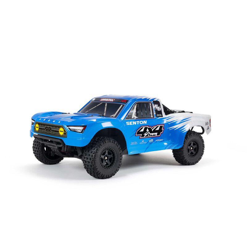 1/10 SENTON 4X4 V3 MEGA 550 Brushed Short Course Truck RTR, Blue